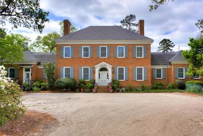 Aiken Single Family Home For Sale: 550 Mead Avenue