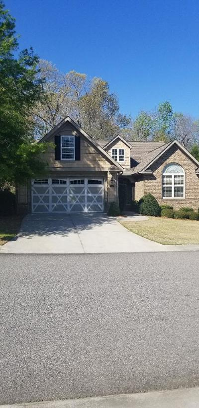 Aiken Single Family Home For Sale: 159 Cottonwood Creek