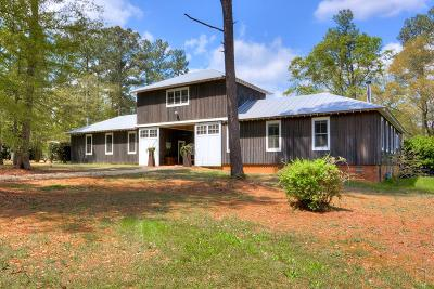 Aiken Single Family Home For Sale: 179 Wire Rd