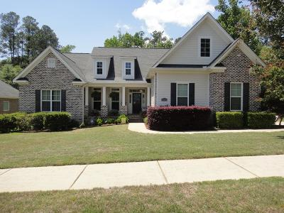 North Augusta Single Family Home For Sale: 135 Woodstone Way