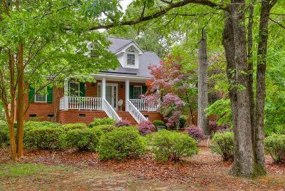 Aiken Single Family Home For Sale: 458 West