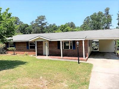 North Augusta Single Family Home For Sale: 1014 Seymour Dr
