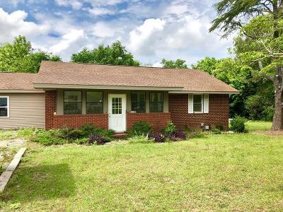 Aiken Single Family Home For Sale: 3143 Wagener Road