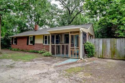 Aiken Single Family Home For Sale: 115 Marvin Drive