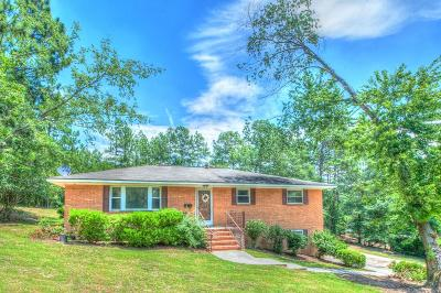 North Augusta Single Family Home For Sale: 201 Hillcrest Drive