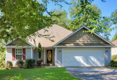 North Augusta Single Family Home For Sale: 110 Scott Drive