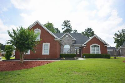 North Augusta Single Family Home For Sale: 196 Mill Run