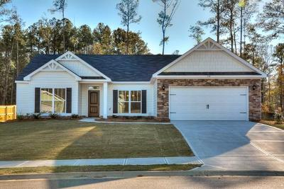 North Augusta Single Family Home For Sale: 1024 Swan Court