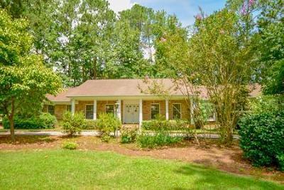 Aiken Single Family Home For Sale: 148 Cherry Hills
