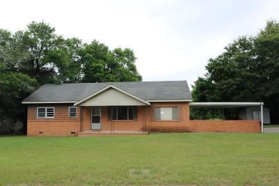 North Augusta Single Family Home For Sale: 105 H & H Street