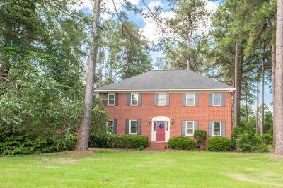 North Augusta Single Family Home For Sale: 222 Oakhurst Drive