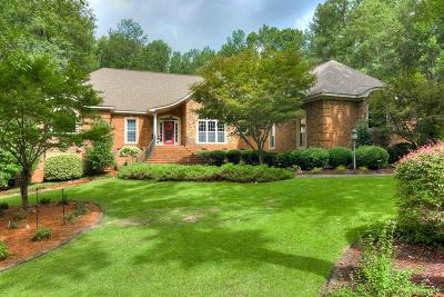 North Augusta Single Family Home For Sale: 23 Pavilion Lake Road