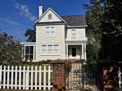 Aiken Single Family Home For Sale: 237 Newberry Street NW