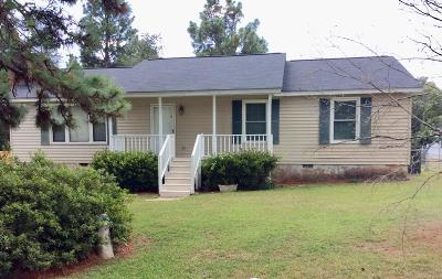 North Augusta Single Family Home For Sale: 349 Blanchard Road