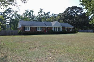 North Augusta Single Family Home For Sale: 217 Longmeadow Rd