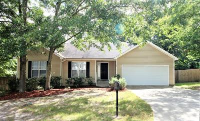 North Augusta Single Family Home For Sale: 245 Carriage Lane