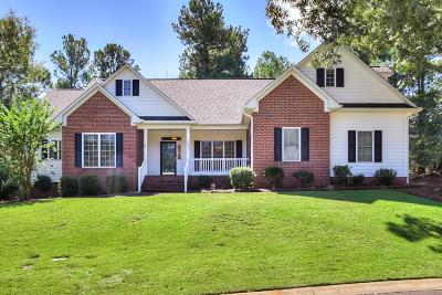 Aiken Single Family Home For Sale: 253 Winged Elm Circle