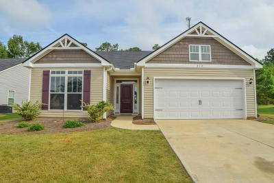 Aiken Single Family Home For Sale: 210 Kemper Downs Drive