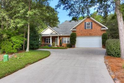 North Augusta Single Family Home For Sale: 820 Lake Lanier Court