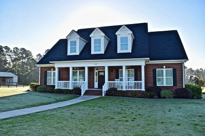 Aiken Single Family Home For Sale: 2309 Silver Bluff Road