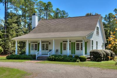 Aiken Single Family Home For Sale: 480 West Road