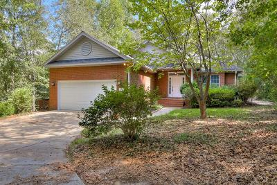 Aiken Single Family Home For Sale: 2487 Club Drive