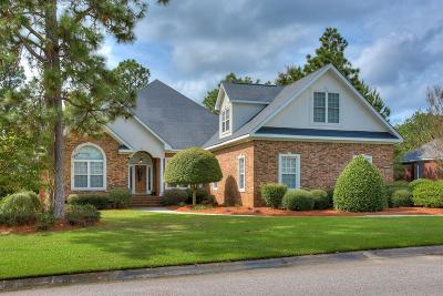 Aiken Single Family Home For Sale: 335 Forest Pines