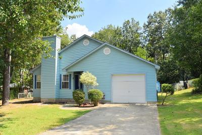 North Augusta Single Family Home For Sale: 2 Astor Ct