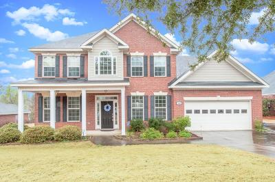 North Augusta Single Family Home For Sale: 145 Kenilworth Dr