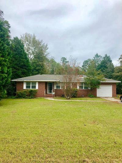 New Ellenton Single Family Home For Sale: 109 Old Whiskey Rd