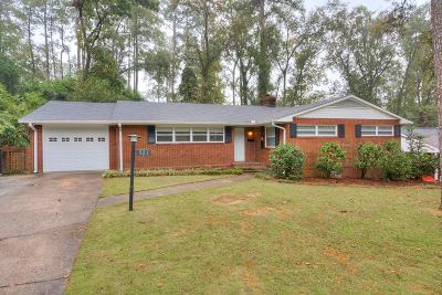 North Augusta Single Family Home For Sale: 923 Stanton Drive