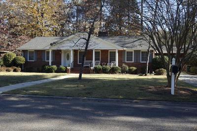 Aiken Single Family Home For Sale: 832 Calhoun Place SE