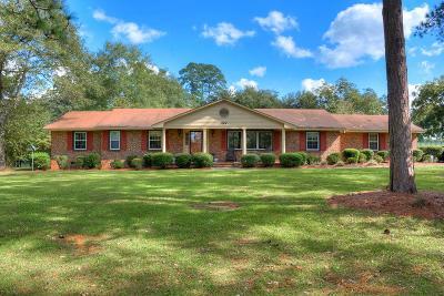 Aiken Single Family Home For Sale: 322 Rushton Road