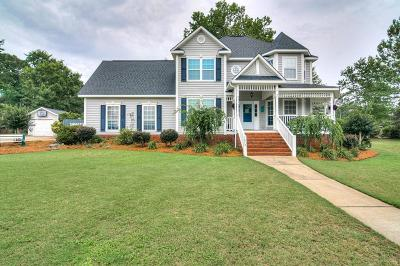 Aiken Single Family Home For Sale: 1473 Willow Woods