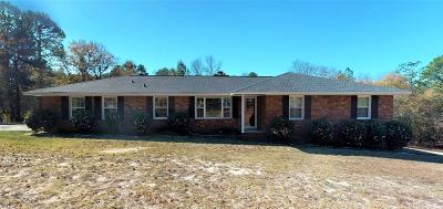 Aiken Single Family Home For Sale: 4723 Vaucluse Rd.