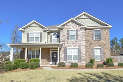 North Augusta Single Family Home For Sale: 180 Kenilworth Drive