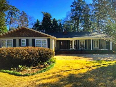 Aiken Single Family Home For Sale: 818 Azalea Place SE