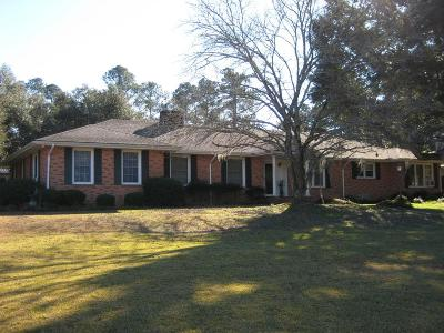 Aiken Single Family Home For Sale: 3618 Wagener Road