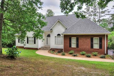 Aiken Single Family Home For Sale: 3107 Champagne Drive