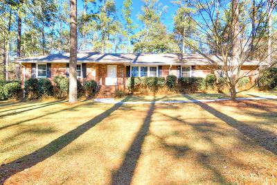North Augusta Single Family Home For Sale: 1005 Ponderosa Dr