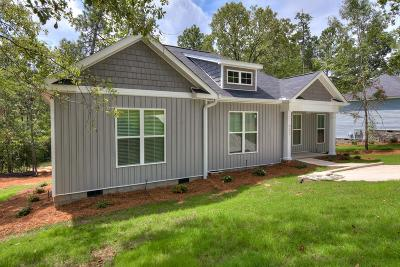 North Augusta Single Family Home For Sale: 33 Ashton Pointe Drive
