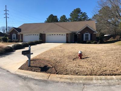 Aiken Single Family Home For Sale: 264 Southbank Dr