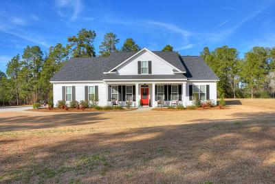 Aiken Single Family Home For Sale: 1435 Herndon Dairy Road