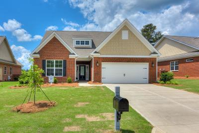 North Augusta Single Family Home For Sale: 144 Fitzsimmons Drive