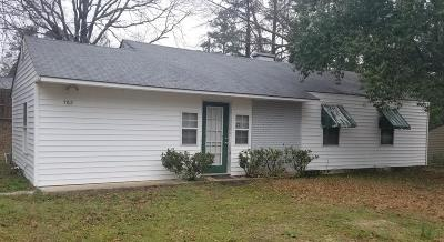 Aiken Single Family Home For Sale: 762 Vincent Avenue