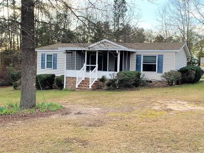 North Augusta Single Family Home For Sale: 253 Chestnut Avenue