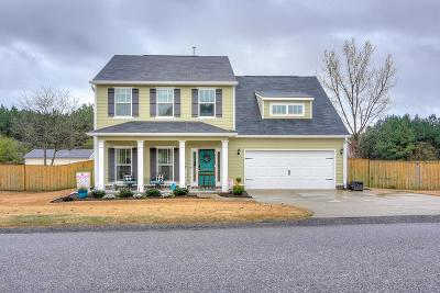 North Augusta Single Family Home For Sale: 309 Foxchase