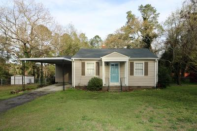 North Augusta Single Family Home For Sale: 705 Mae St