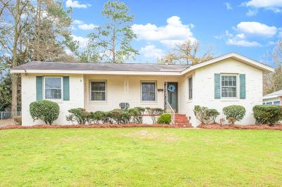 North Augusta Single Family Home For Sale: 1821 Bunting Drive