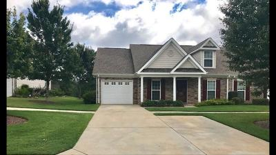 North Augusta Single Family Home For Sale: 253 Orchard Way